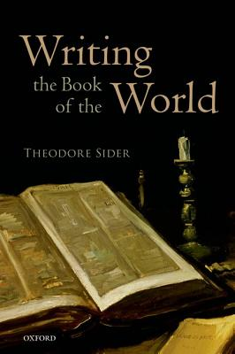 Writing the Book of the World By Sider, Theodore